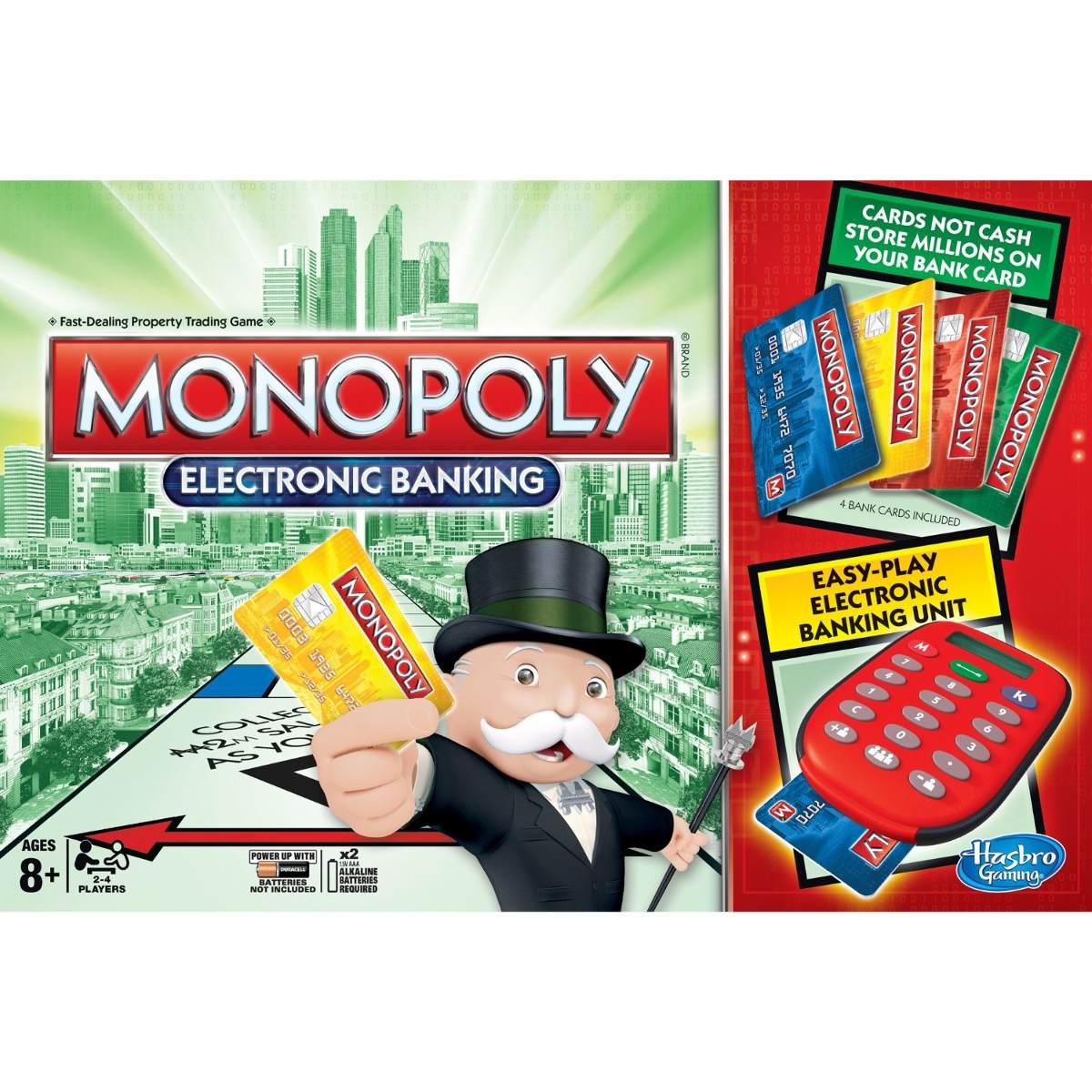 Juegos De Mesa Juego De Mesa Hasbro Monopoly Electronic