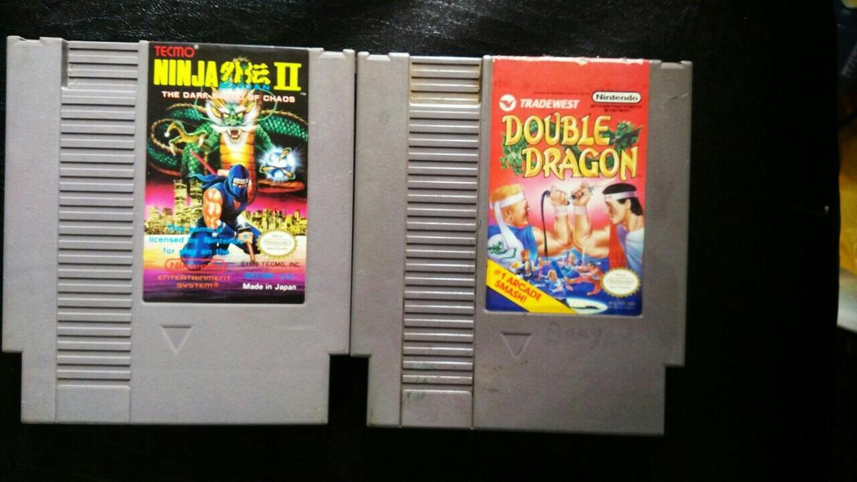Juegos De Nes Ninja Gaiden 2 Y Double Dragon U S 44 99 En Mercado