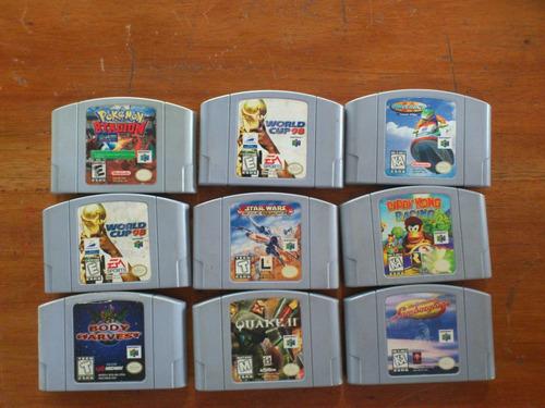 juegos de nintendo 64 coleccion snes consolas memoria play