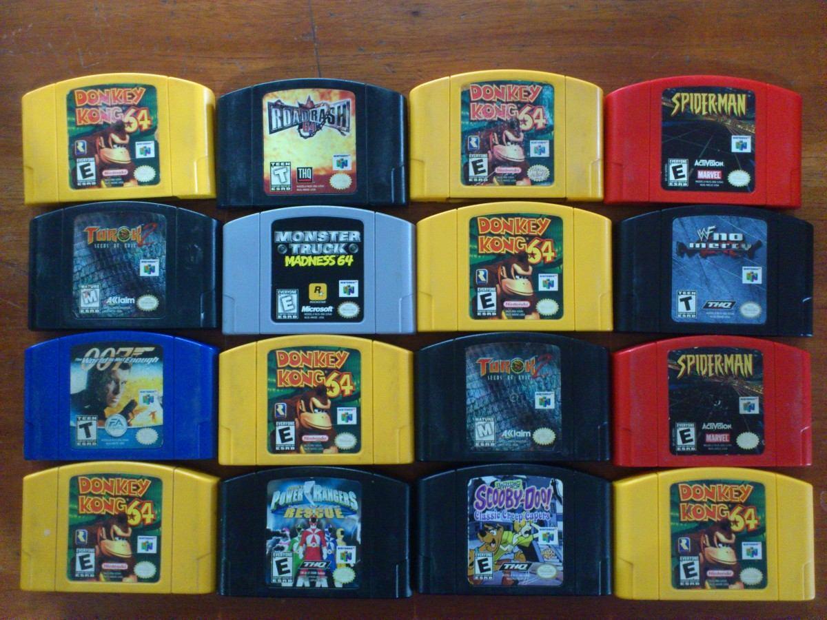 Consolas De Videojuegos Nintendo 64