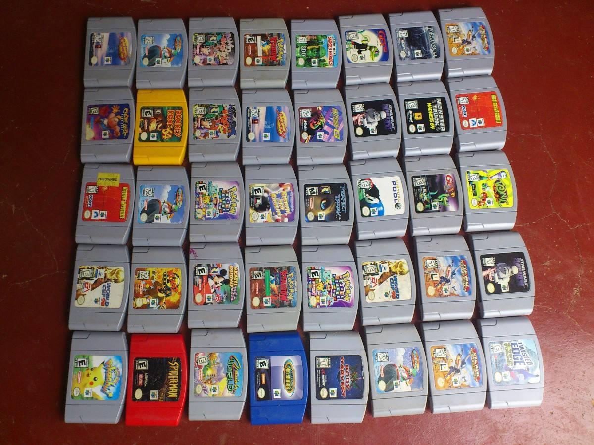 Juegos De Nintendo 64 Coleccion Vendo Consola Memoria Y Snes