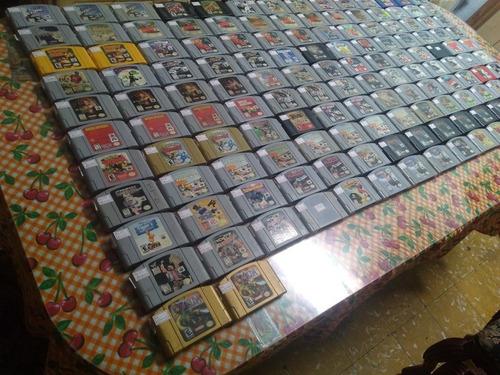 juegos de nintendo 64 originales preguntar precio y disponib