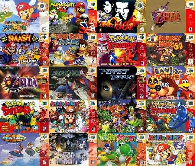 Juegos De Nintendo 64 Para Pc Laptops Y Minilaptops Bs 900 00 En