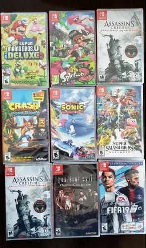 juegos de nintendo switch 2019