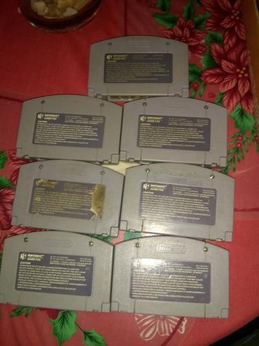 juegos de nintengo 64 diferentes titulos