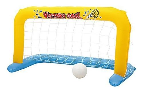 juegos de pileta arco inflable futbol polo juego con pelota