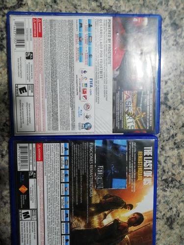 juegos de playstation 4 :fifa17 y/o the last of us