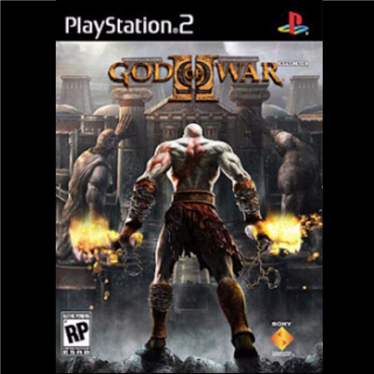 Juegos De Ps2 - Saga God Of War 1 Y 2