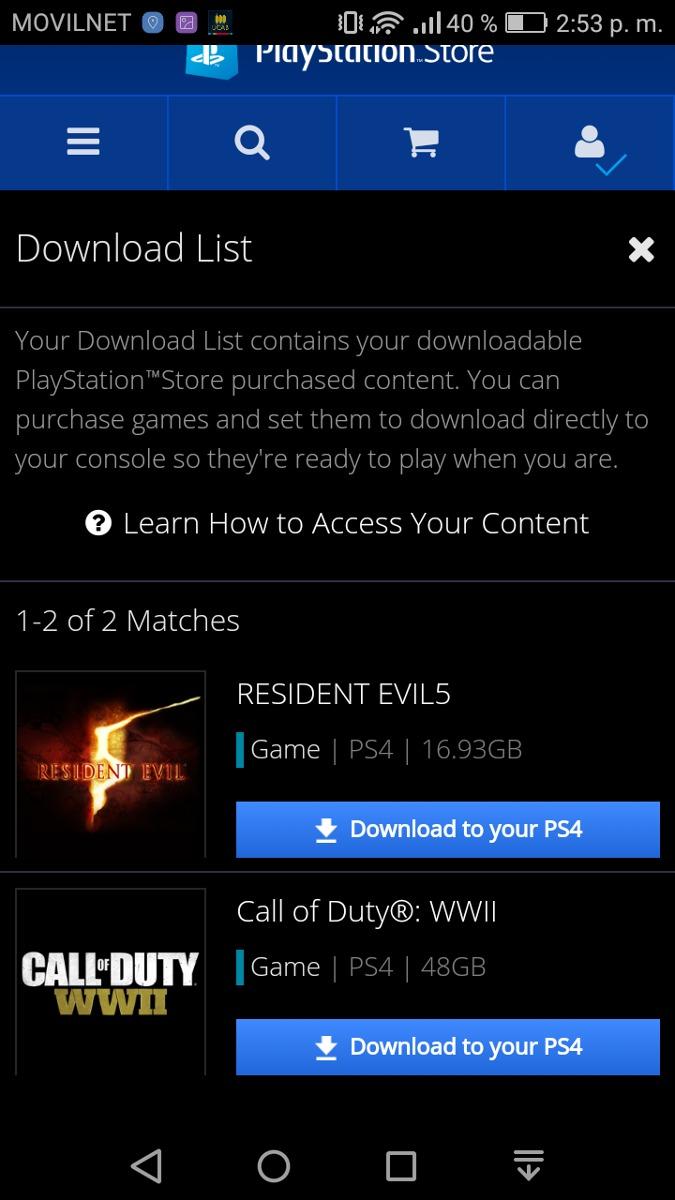 Juegos De Ps4 Digital No Necesita Internet Bs 0 15 En Mercado Libre