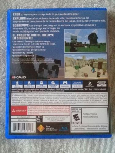 juegos de ps4 juegos minecraft