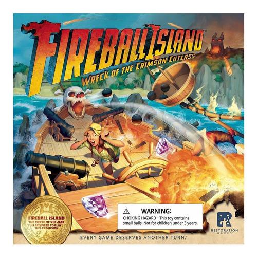 juegos de restauración fireball island: wreck of the crimson