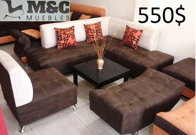 Juegos de sala modernos u s 450 00 en mercado libre for Juego de muebles para sala modernos