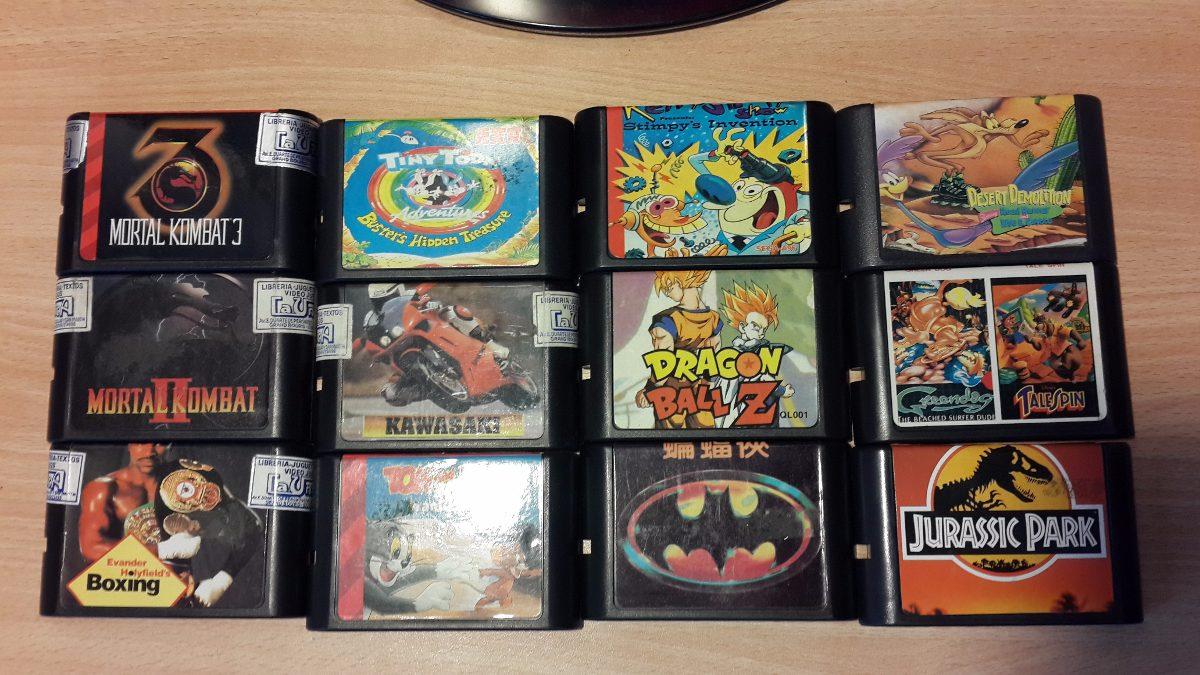 Juegos De Sega Genesis 16bits Varios Titulos Zona Norte 180 00