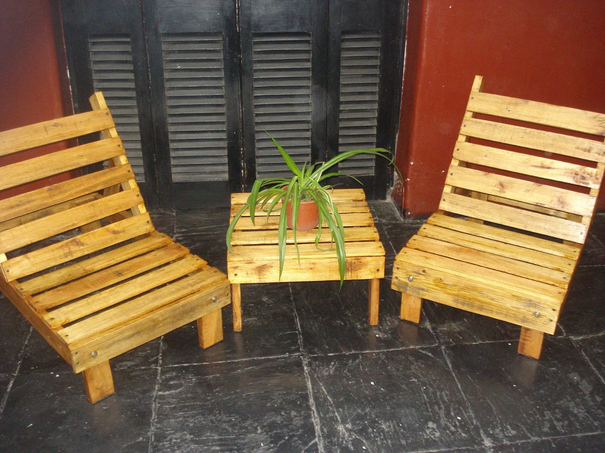 Palets para jardin otra with palets para jardin elegant for Sillones de jardin