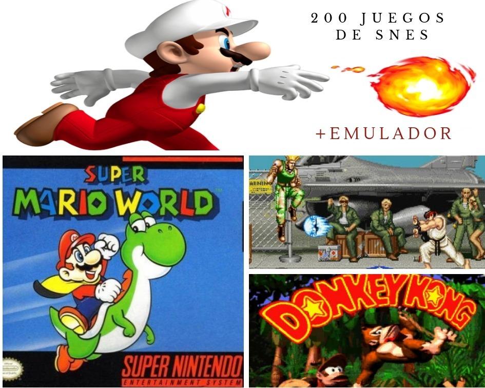 Juegos De Super Nintendo Para Pc Windows Roms Y Emulador Bs 500