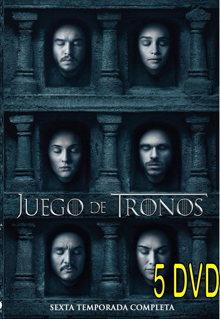 Juegos De Tronos Temporada 6 Completa Formato Original - Bs. 1,00 en ...