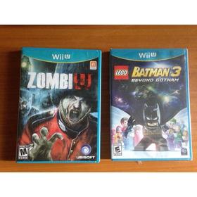 Juegos De Wii U - Nuevo Sellado Y Usado