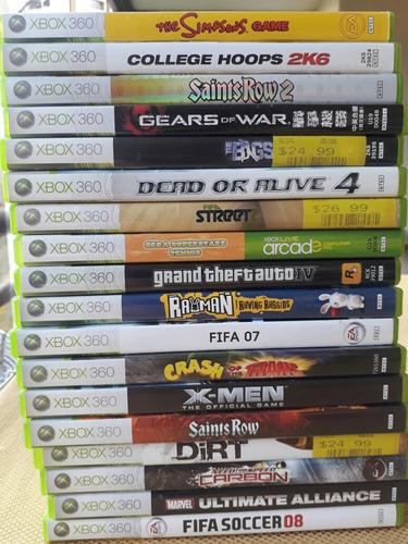 juegos de xbox 360, ps3, psp, y wii