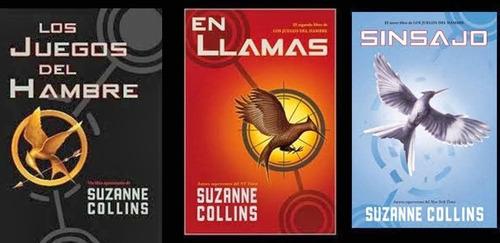 juegos del hambre pack trilogia - libros originales