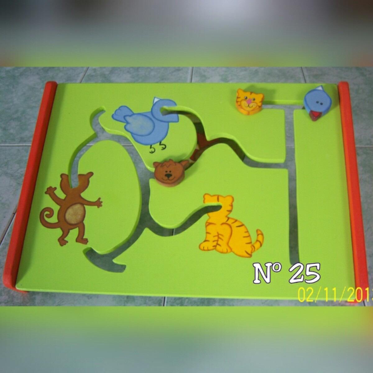Juegos Didacticos Educativos Y Recreativos En Mdf Bs 9 000 00