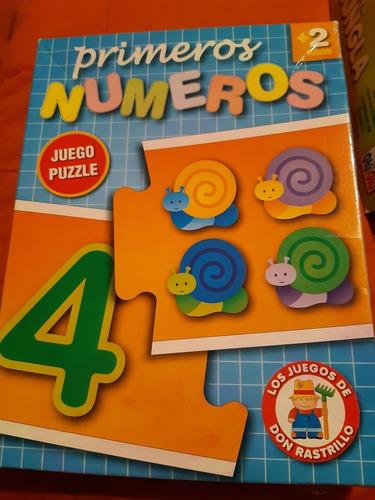 juegos didácticos primeros números