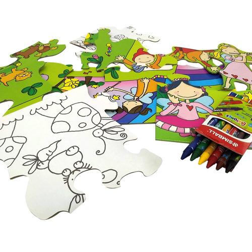 juegos didácticos rompecabezas haditas - piezas grandes