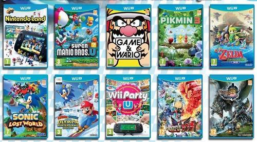 juegos digitales de wii u
