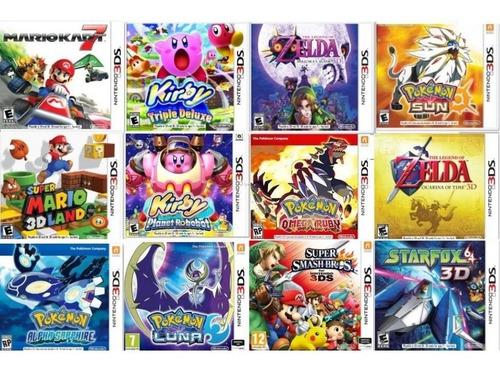juegos digitales para nintendo 3ds/2ds