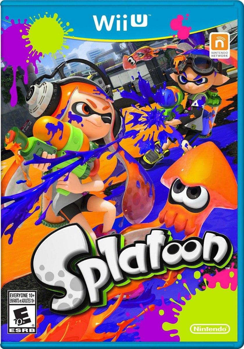 Juegos Digitales Para Wii U Splatoon Regalo Oferta Bs 85