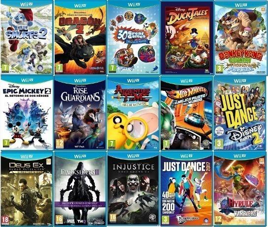 Juegos Digitales Para Wii U Zelda Mario Kart 8 Smash Bros Bs