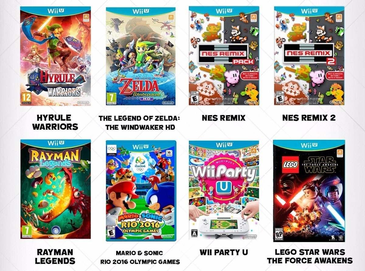 Juegos Digitales Wii U 25 500 En Mercado Libre