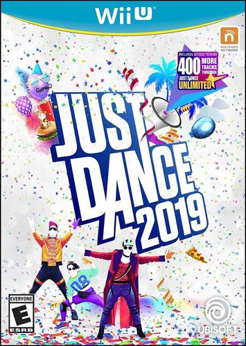 juegos digitales wii u just dance 2019 + pack, oferta!