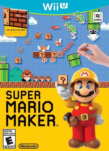 juegos digitales wii u. mario maker + pack de juegos oferta!
