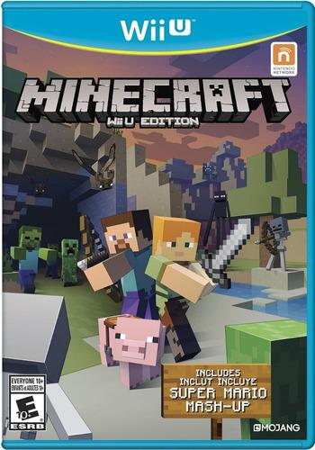 juegos digitales wii u. minecraft + pack de juegos, oferta!