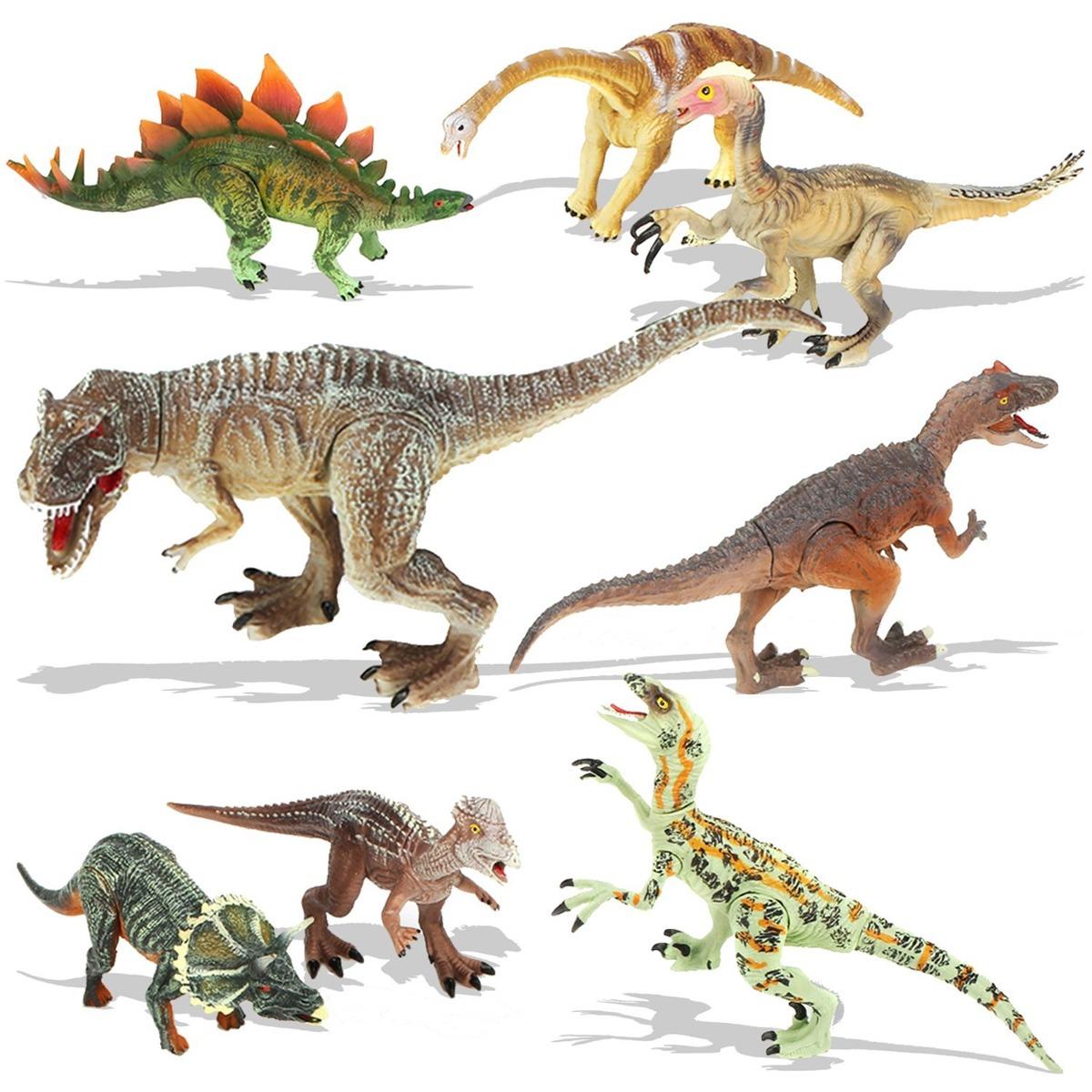 Juegos Dinosaurios Quadpro Niños 8 Piezas Figuras