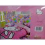 Edredon Infantil Individual Hello Kitty+ Sabanas