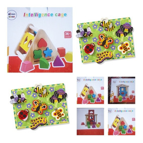 1 MaderaJgo Puzzle Educativo Juegos Encastre bg6fY7y