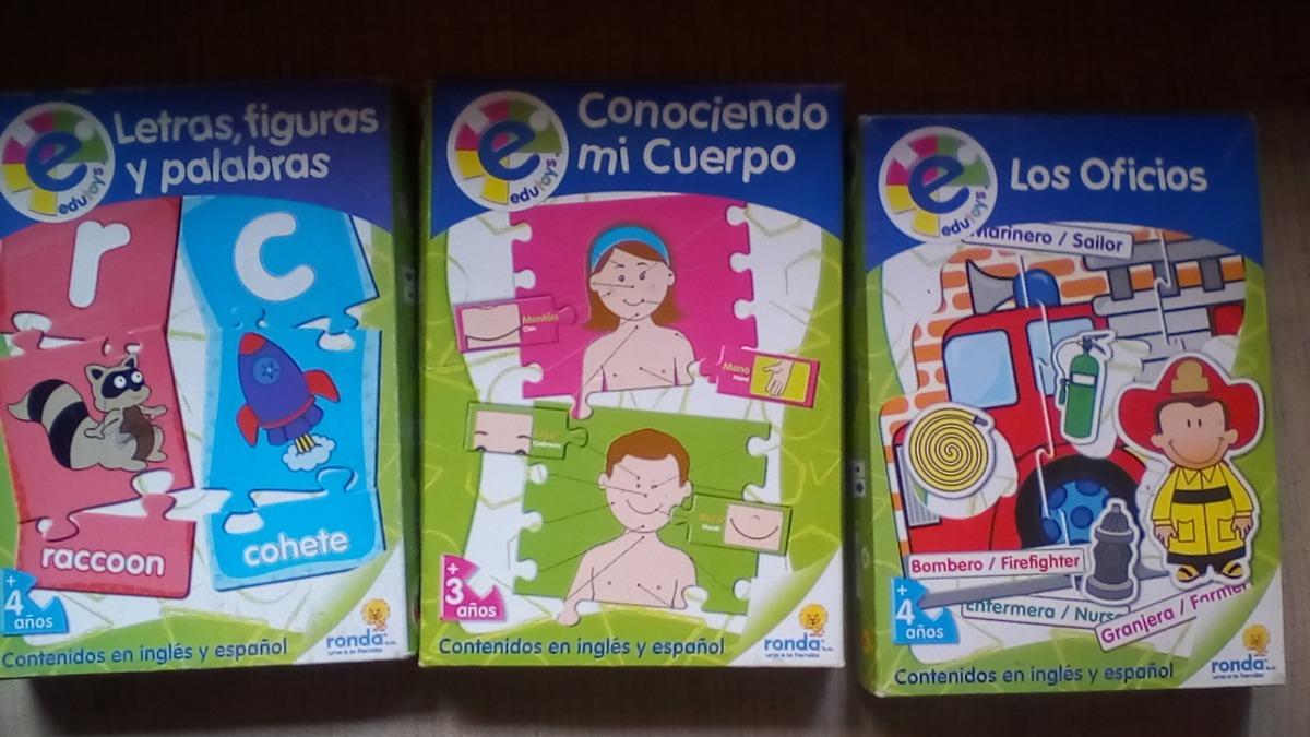 Juegos Educativos De Mesa 4 Anos Bs 500 00 En Mercado Libre
