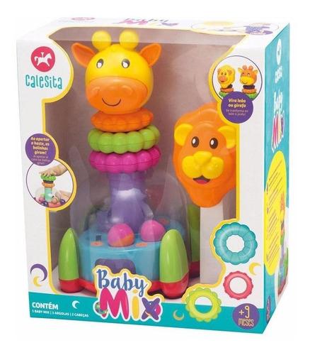 juegos encastrable didáctico bebes calesita baby mix