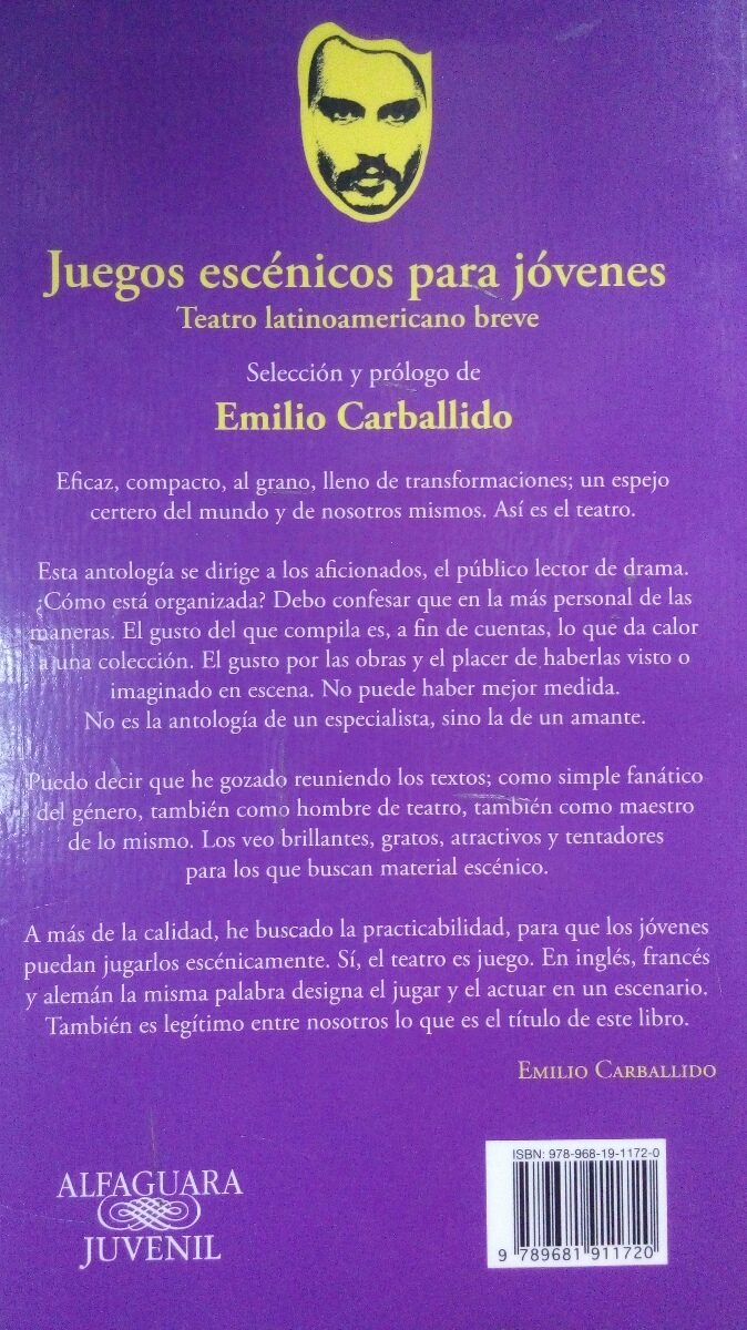Juegos Escenicos Para Jovenes Emilio Carballido 260 00 En