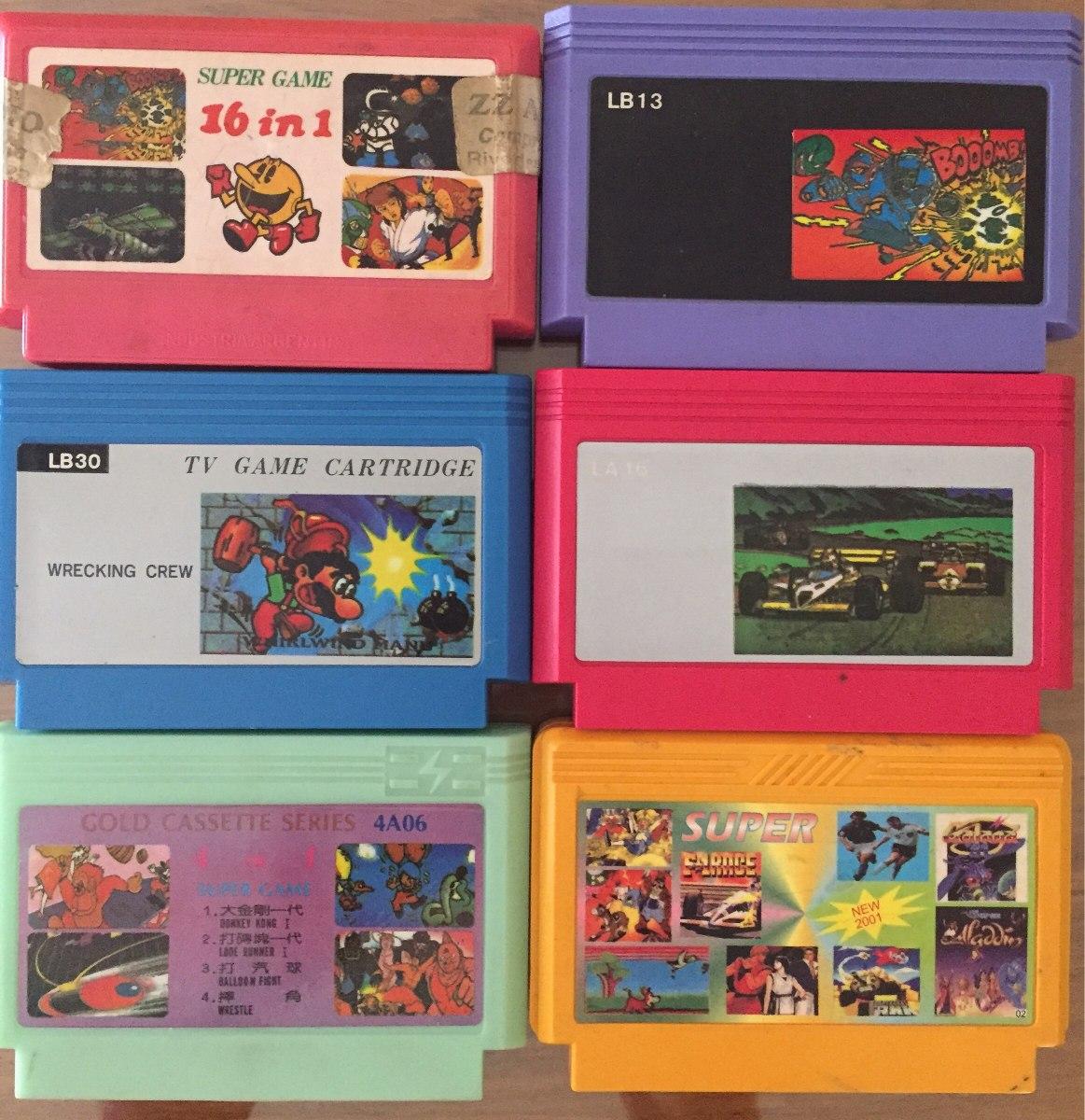 6 Juegos 8 Bits Para Family Game Oportunidad 350 00 En Mercado