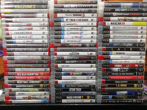 juegos físicos de playstation 3