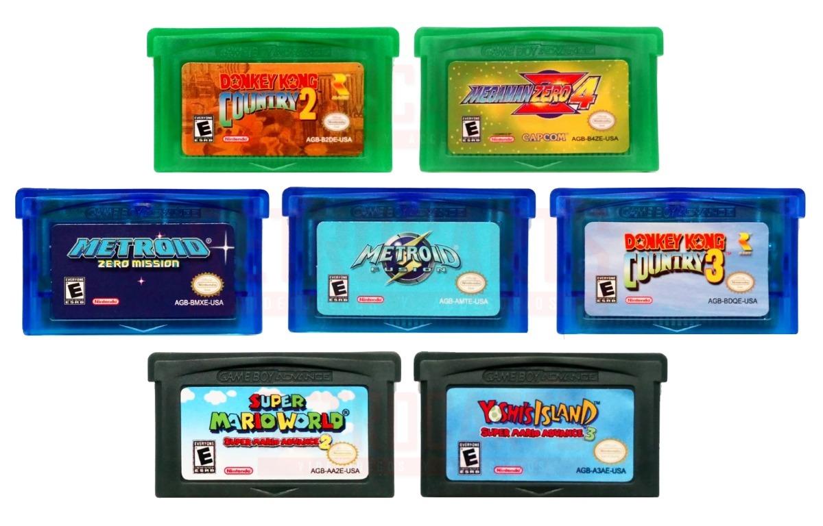 Juegos Gameboy Advance 2 Unidades A 18 000 Envio Gratis Gba