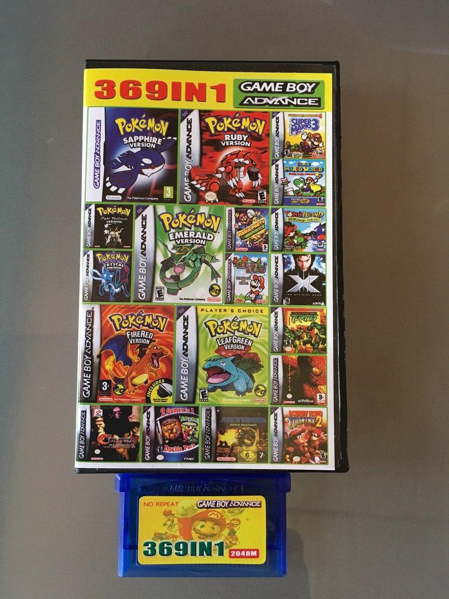 Juegos Gameboy Advance Sp 369 En 1 17 990 En Mercado Libre