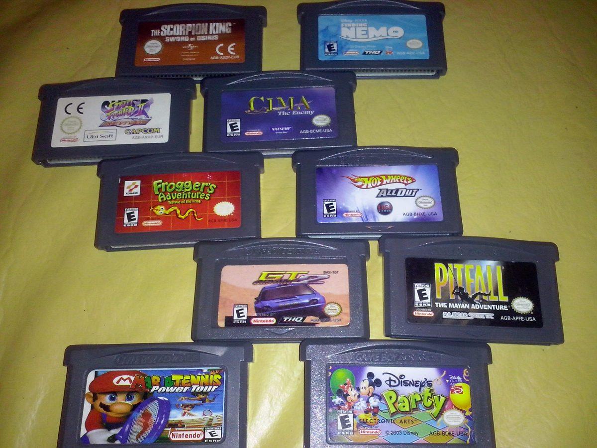 Juegos Gameboy Advance Sp Varios Titulos 100 00 En Mercado Libre