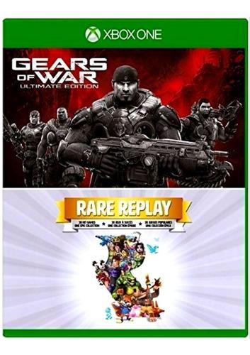 juegos gear of war ultimate edition y rare replay - xbox one