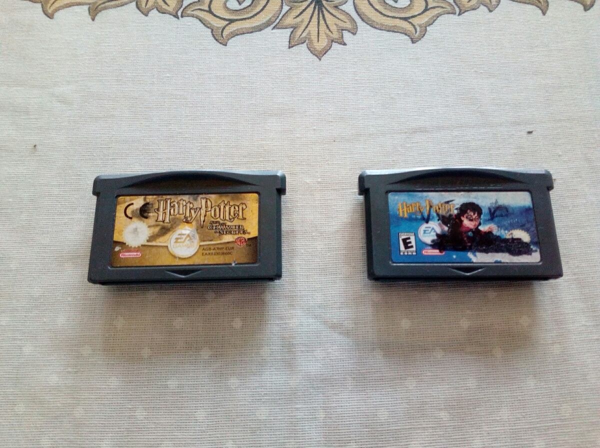 Juegos Harry Potter Gameboy Advance Gba Originales 400 00 En