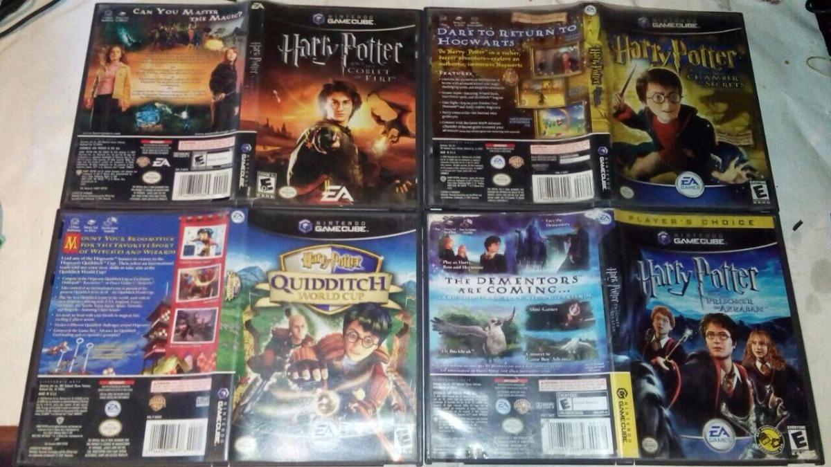 Juegos Harry Potter Para Gamecube Envio Gratis 1 040 00 En