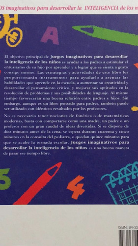 juegos imaginativos para desarrollar la inteligencia de niño