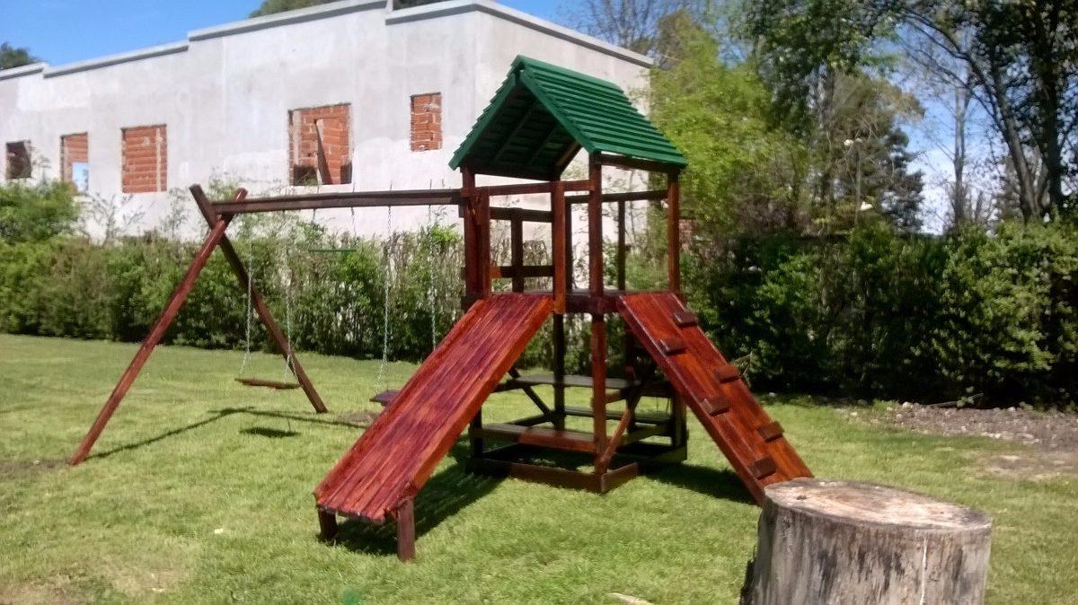Juegos Infantiles De Madera - Ideal P/ Jardines Y Colegios ...